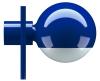 Tecta L25N ultramarijn tafellamp / bureaulamp - 4