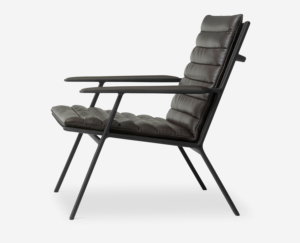Vipp 456 shelter lounge fauteuil - 1