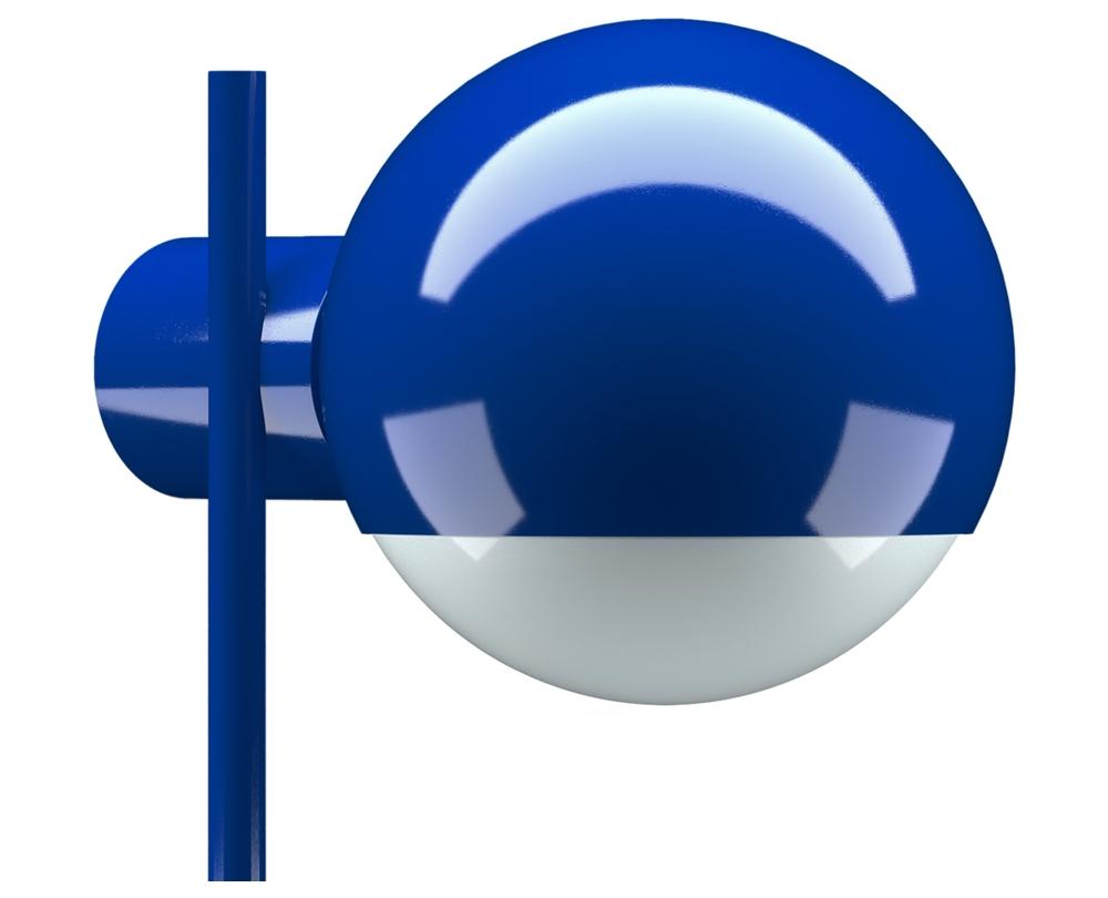 Tecta L25N ultramarijn tafellamp / bureaulamp - 5