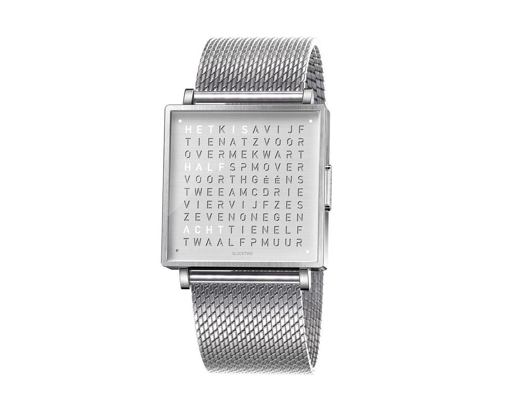 Qlocktwo Watch Fine Steel horloges - 1