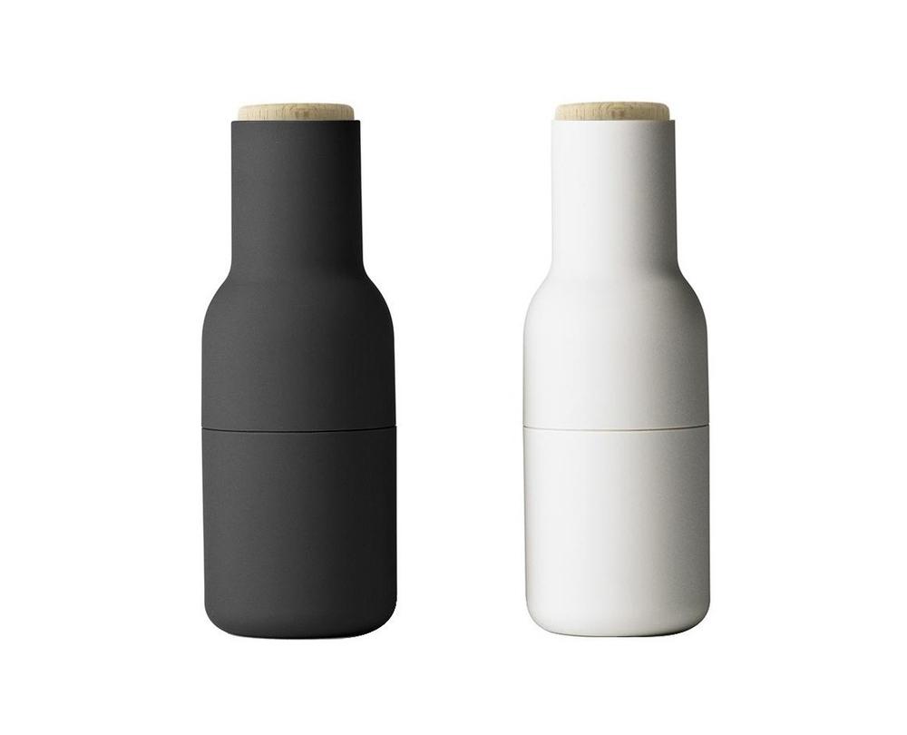 Menu Bottle Grinder molen set van 2 deksel beukenhout - 1