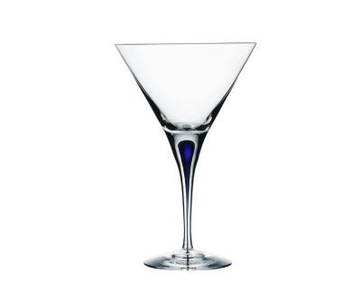 Orrefors Intermezzo Blue Martini 25cl (21cl)
