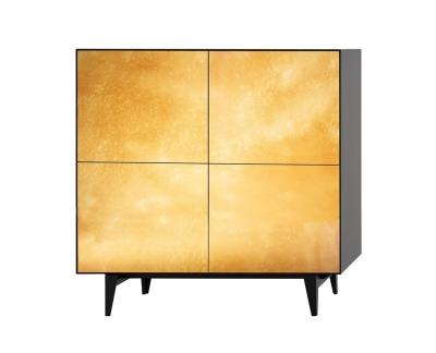 Piure Nex Glamour Gold - Sideboard 110.5x48x109.3cm