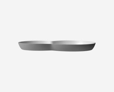 Vipp 214 brunch bord (2x) (grijs)