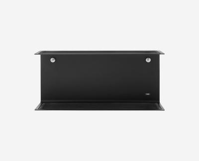 Vipp 921 wandplank (50cm) (zwart)