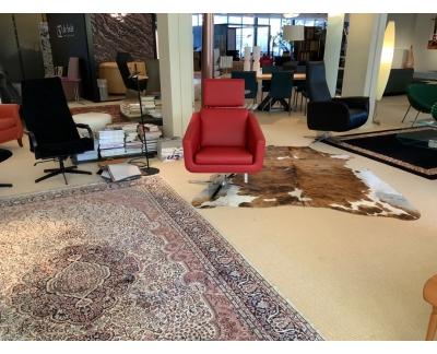 FSM fauteuil Pavo met funkties rood