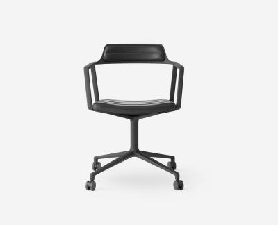 Vipp 452 bureaustoel met wielen (zwart)