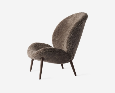 Vipp 466 Lodge fauteuil / loungestoel (Curly)
