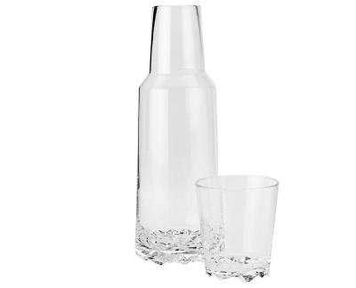 Stelton Glacier karaf met drinkglas
