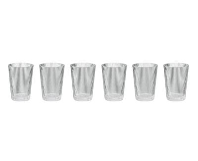 Stelton Pilastro drinkglas 0.33L (6 stuks)