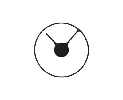Stelton Time wandklok zwart