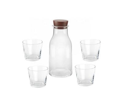 Alessi Tonale karaf en 4 glazen set
