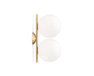 Flos IC C/W1 Double wandlamp / plafondlamp