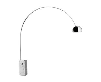 Flos Arco vloerlamp E27 fitting retrofit