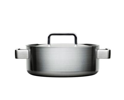 Iittala Tools Kookpan met deksel - 3 l - Geborsteld roestvrij staal