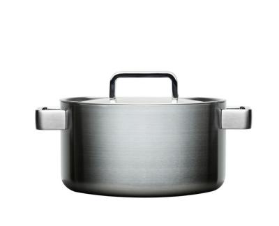 Iittala Tools Kookpan met deksel - 4 l - Geborsteld roestvrij staal