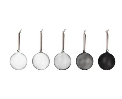 Iittala Decorations Glazen Ballenset - 80 mm - 5 stuks