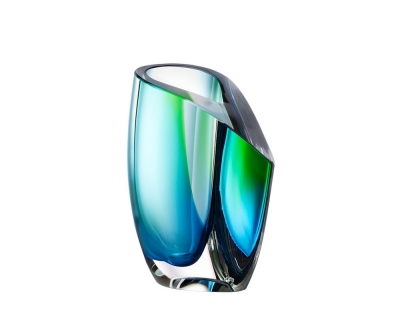 Kosta Boda Mirage Green/blue vaas Ac 15.5cm