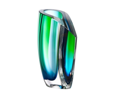 Kosta Boda Mirage Green/blue vaas Ac 21cm