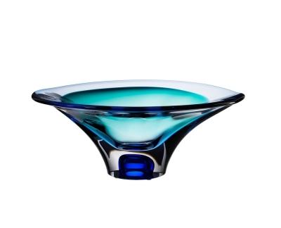 Kosta Boda Vision Blue schaal Ac
