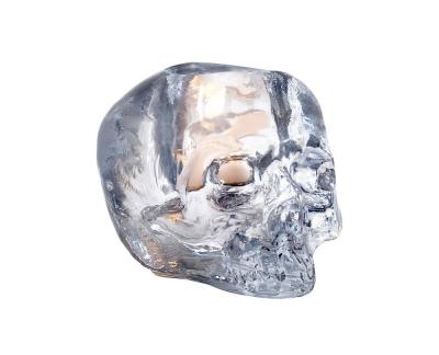 Kosta Boda Still Life Skull theelichthouder D 115mm