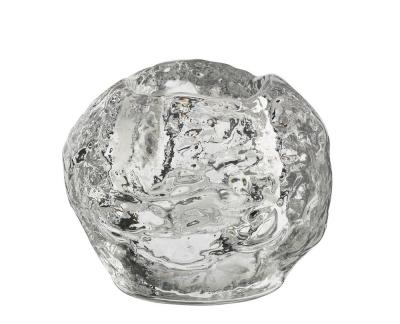 Kosta Boda Snowball theelichthouder H 70mm