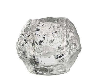 Kosta Boda Snowball theelichthouder H 90mm