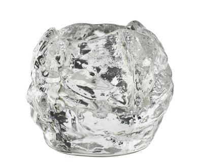 Kosta Boda Snowball theelichthouder H 60mm