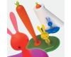 Alessi Bunny & Carrot keukenrolhouder - 2
