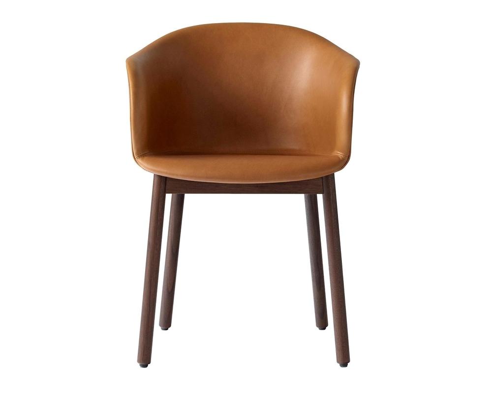 &Tradition Elefy JH31 stoel met armleuning onderstel walnoot - 3
