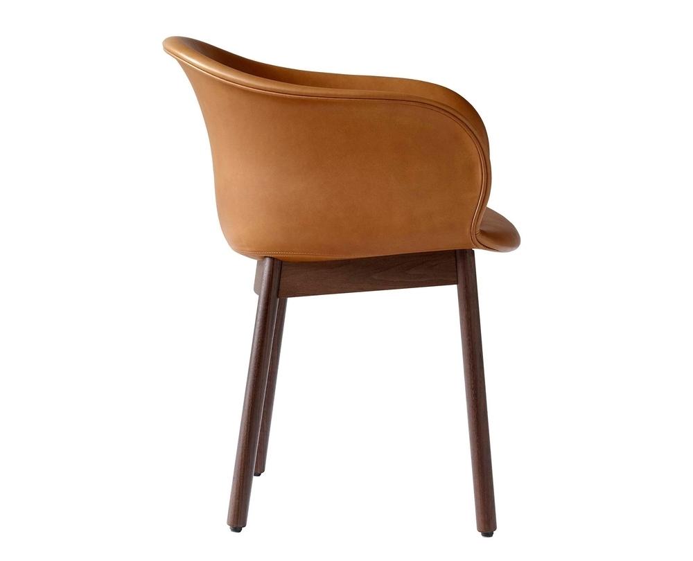 &Tradition Elefy JH31 stoel met armleuning onderstel walnoot - 2
