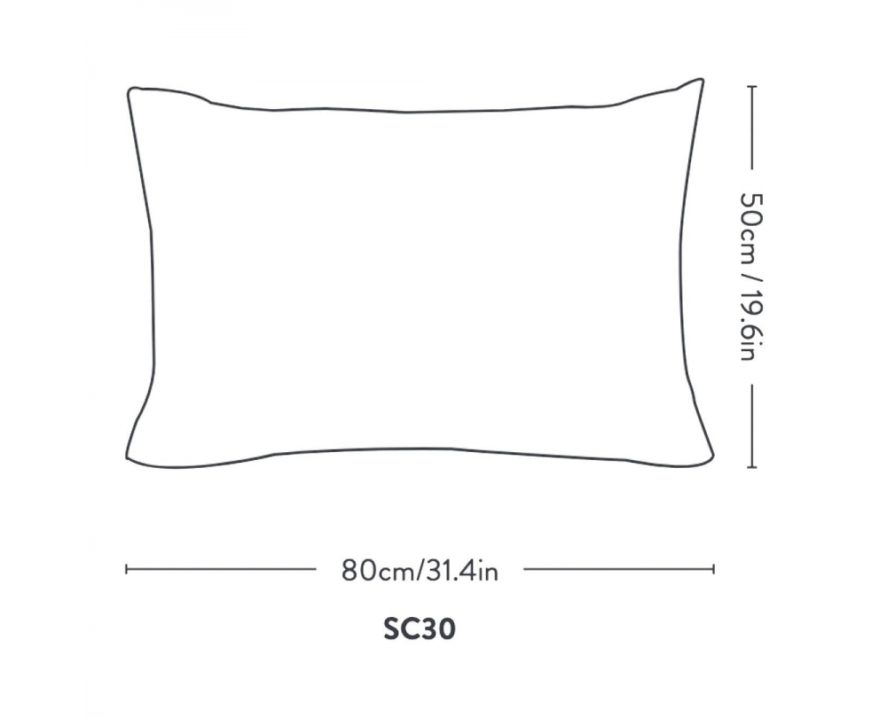 &tradition Collect Indigo SC30 kussen 50x80cm - 2