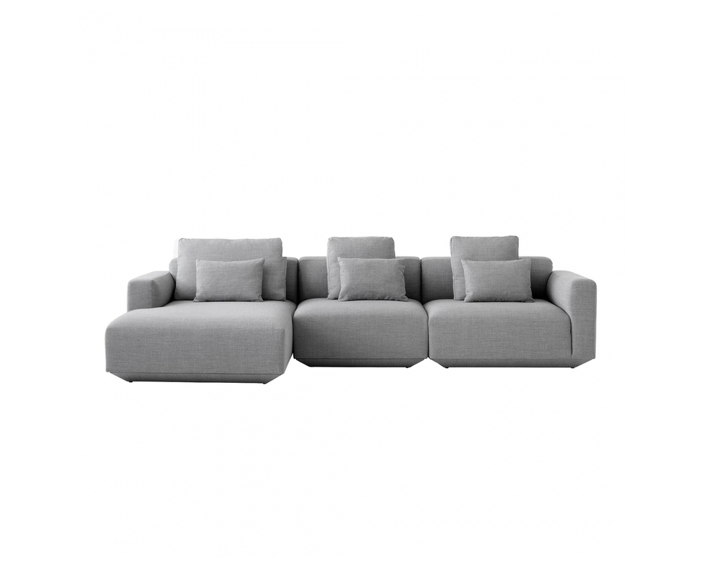 &Tradition Develius 3-zits sofa met chaise longue - 1