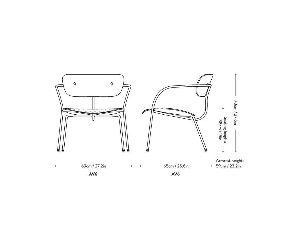 &Tradition Pavilion AV6 fauteuil - 3