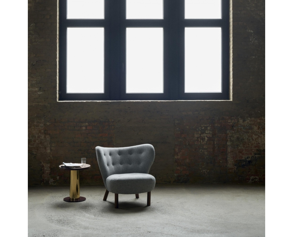 &tradition Little Petra VB1 fauteuil onderstel walnoot - 5