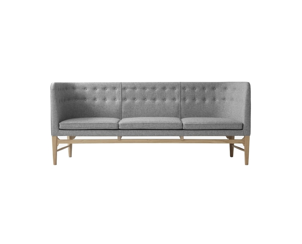 &tradition Mayor AJ5 - 3-zitter sofa onderstel eiken - 1