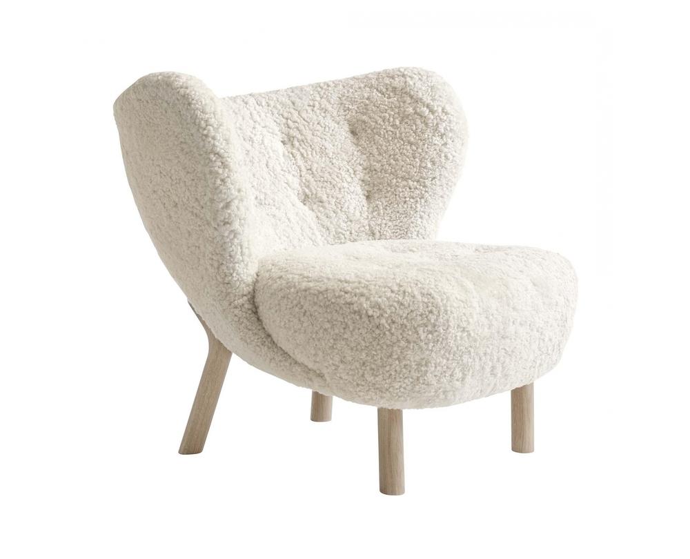 &tradition Little Petra VB1 fauteuil onderstel eiken - 1
