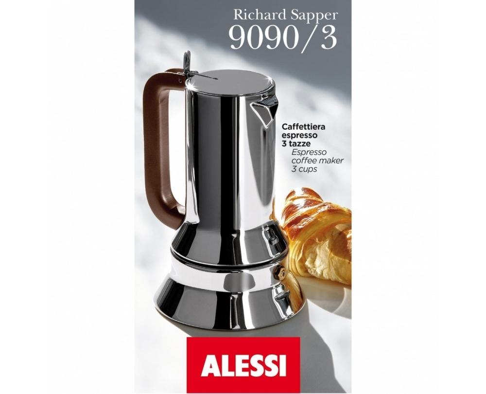 Alessi 9090 mokkapot met magneetbodem - 4