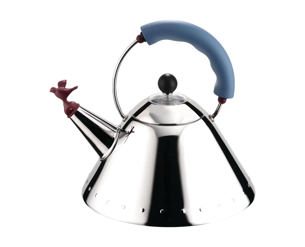 Alessi 9093 waterkoker met magneetbodem - 1