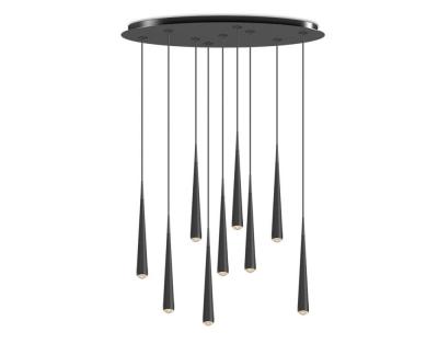 Tobias Grau Niceone Rain OVAL 9 hanglamp