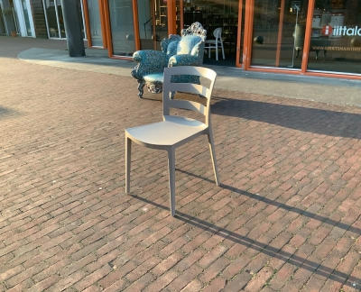 Green Town chair P108 Dove grey