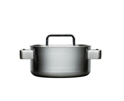 Iittala Tools Kookpan met deksel - 2 l - Geborsteld roestvrij staal