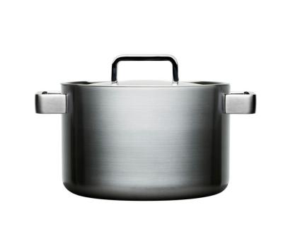 Iittala Tools Kookpan met deksel - 5 l - Geborsteld roestvrij staal