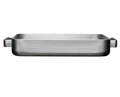 Iittala Tools Ovenpan Groot - 41 x 37 x 6 cm - Geborsteld roestvrij staal
